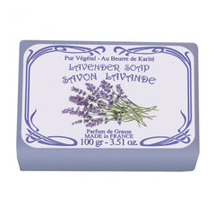 Le Blanc Lavender Wrapped Soap