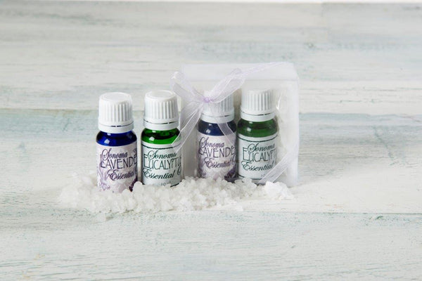 Sonoma Lavender & Eucalyptus Essential Oil Duo with Bath Salts