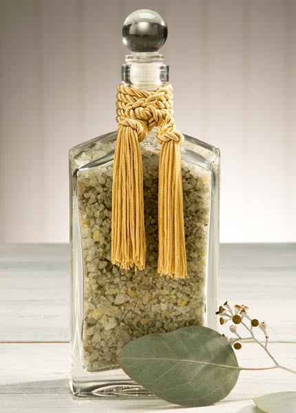 Sonoma Eucalyptus Italian Decanter of Eucalyptus Bath Salts