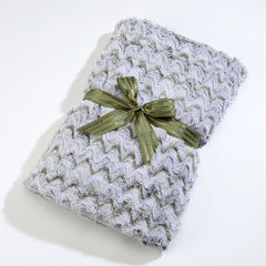 Sonoma Eucalyptus Frosted Moss Spa Blankie