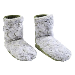 Sonoma Eucalyptus Frosted Moss Spa Booties