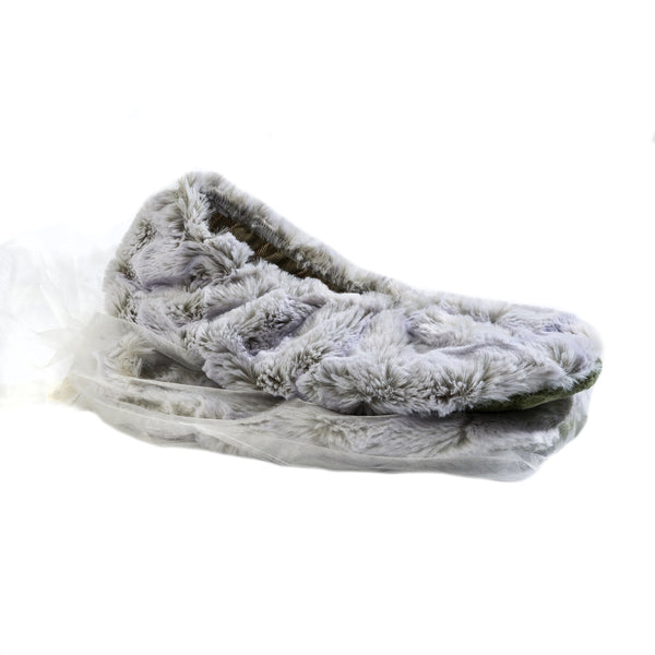 Sonoma Eucalyptus Frosted Moss Heatable Footies