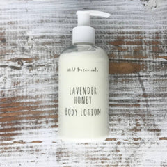 Wild Botanicals Lavender Honey Lotion