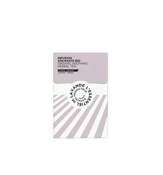 l'Essentiel de lavande Organic Soothing Herbal Tea - lavender, verbena