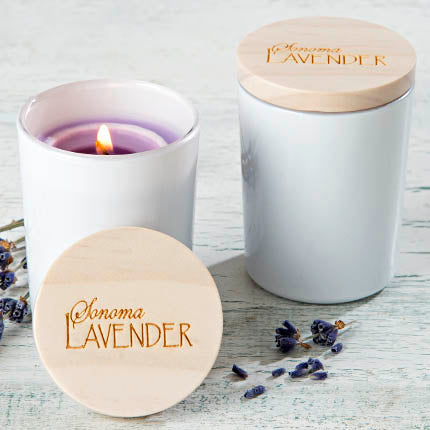 Sonoma Lavender Soy Votive Travel Candle