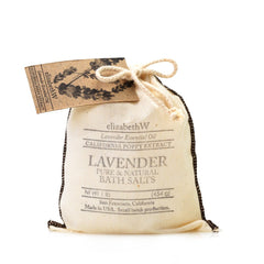 elizabeth W Purely Essential Lavender Bag of Salts
