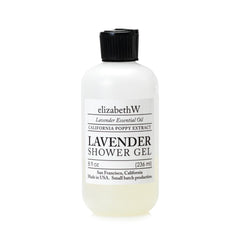elizabeth W Purely Essential Lavender Shower Gel