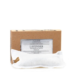 elizabeth W Purely Essential Lavender Shower Pouch