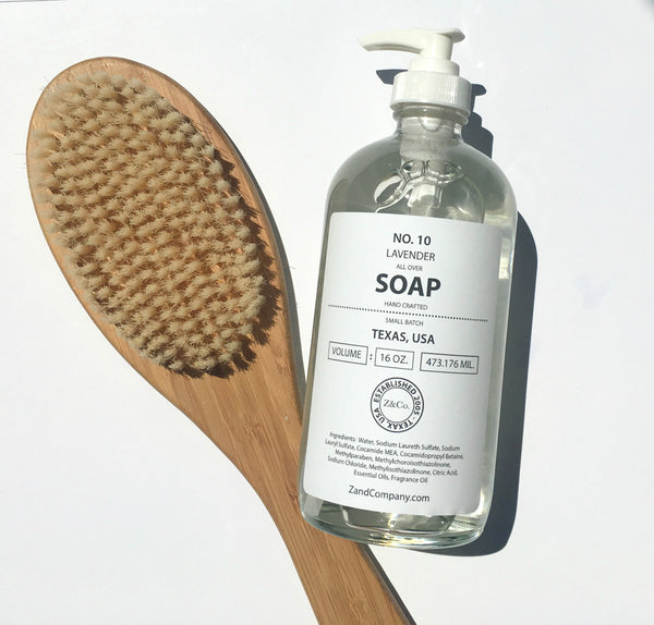 Z&Co. - All Over Soap 16 oz. Lavender Body Wash And Liquid Soap