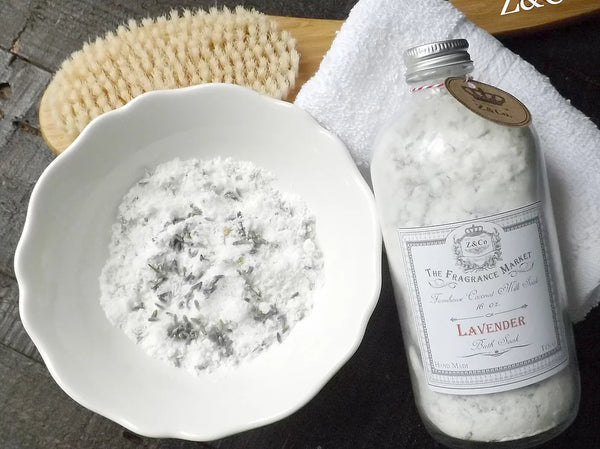 Z&Co. - Lavender 16 oz. Coconut Milk Soak/ Bath salts Farmhouse Collection