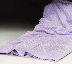 Lilac Dot Heated Footies & Spa Blankie