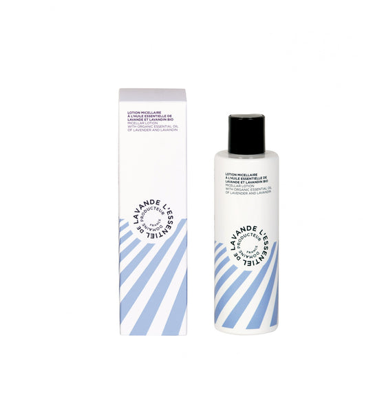 l'Essentiel de lavande Micellar Lotion with Organic Essential Oil of Lavender