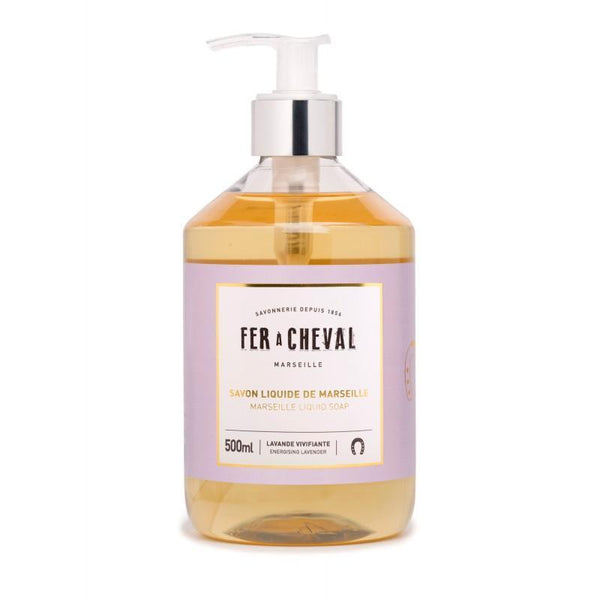 Fer à Cheval Marseille Liquid Soap Energising Lavender 500ml