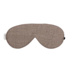 elizabeth W Washed Natural Linen Sleep Mask