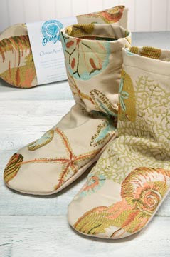 Oceanaire Seascape Mittens