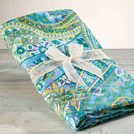 Palm Beach Paisley Spa Blankie