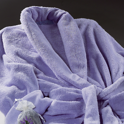 Ultra-luxe Robe - Lilac