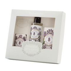 Panier des Sens Shower Gift Set Lavender  (SET OF 3)