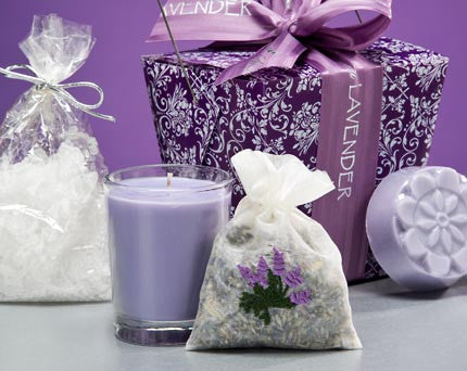 Lavender take-out-box