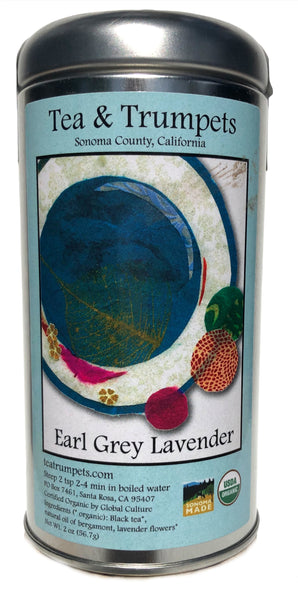 Tea & Trumpets Earl Grey Lavender Loose Tea