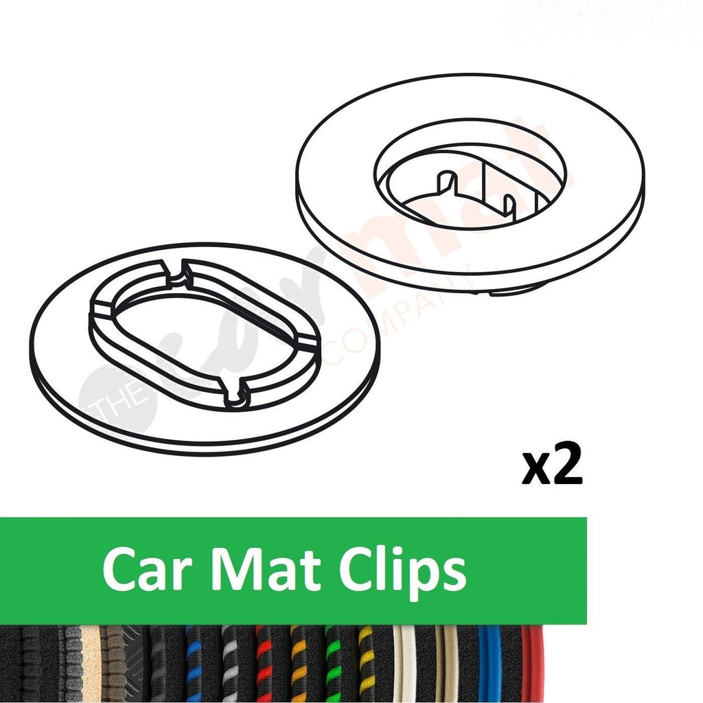 Car Mat Clips To Fit BMW 3 Series E30 Convertible (1982-1994)