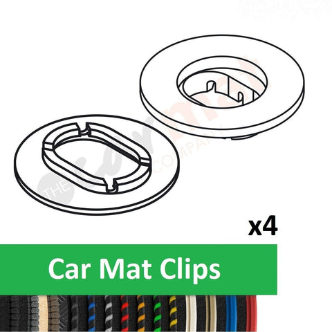 Ford Car Mat Clips (Oval)