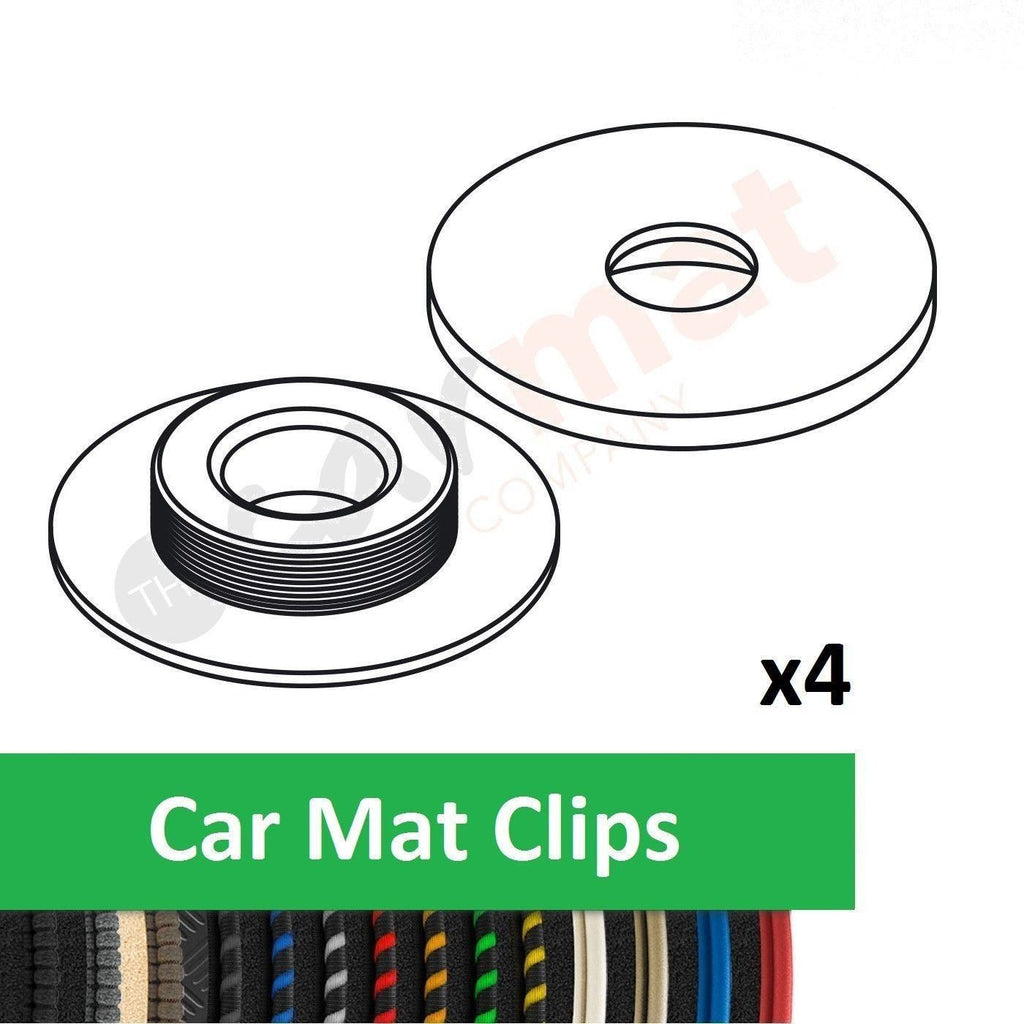 Car Mat Clips To Fit Audi  (Round)