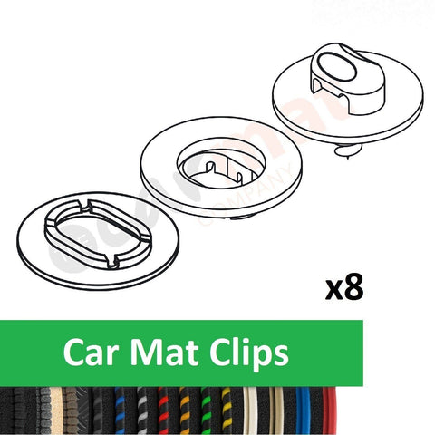 Land Rover Discovery (2017-) Car Mat Clips