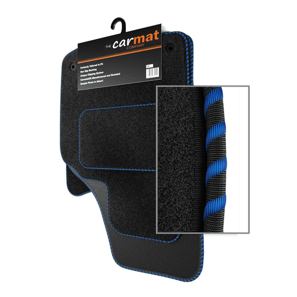 View of a collection of custom car mats, specifically Chevrolet Kalos (2008-) Custom Car Mats