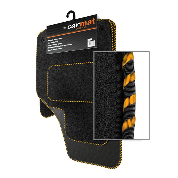 View of a collection of custom car mats, specifically Honda Jazz (2008-2011) Custom Car Mats
