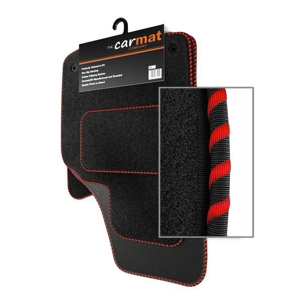 View of a collection of custom car mats, specifically Vauxhall Viva (2015-) Custom Car Mats