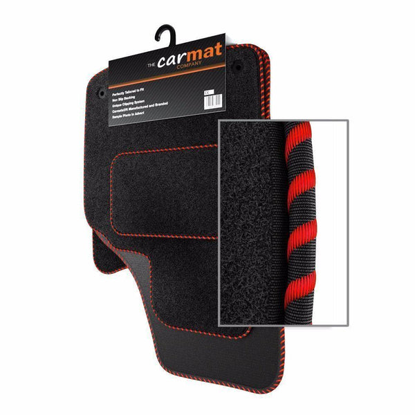 View of a collection of custom car mats, specifically Kia Ceed 2007-2012) Custom Car Mats