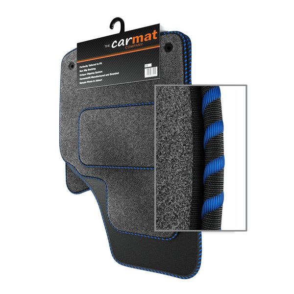 View of a collection of custom car mats, specifically Vauxhall Zafira B (2005-2014) Custom Car Mats