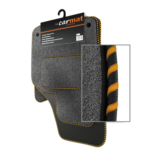 View of a collection of custom car mats, specifically Ford Galaxy MK4 (2015-) Custom Car Mats