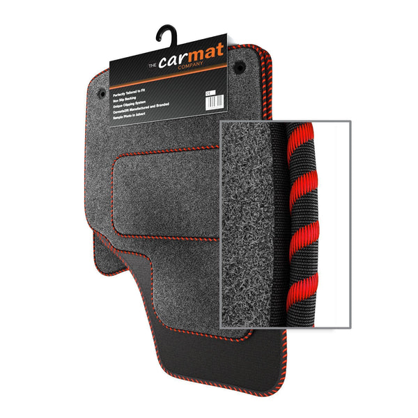 View of a collection of custom car mats, specifically Vauxhall Zafira C Mk3 (2012-) Custom Car Mats
