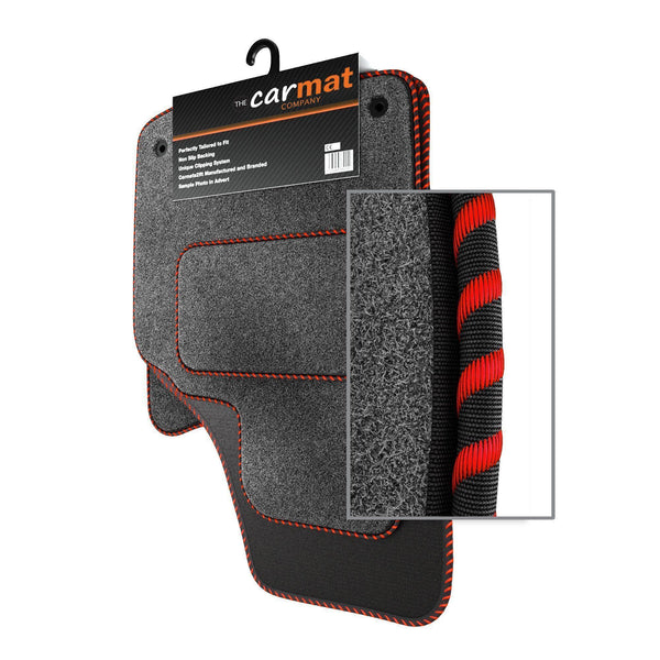 View of a collection of custom car mats, specifically Dacia Sandero (2013-) Custom Car Mats