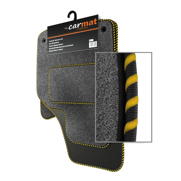 View of a collection of custom car mats, specifically Hyundai i20 (2009-2014) Custom Car Mats