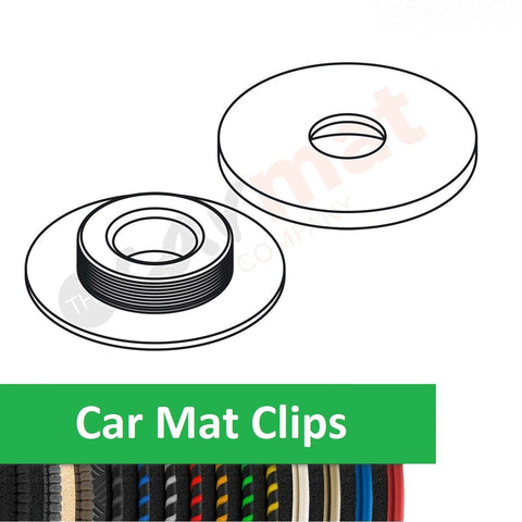 Car Mat Clips To Fit Alfa Romeo Mito (2008-Present) Replacement