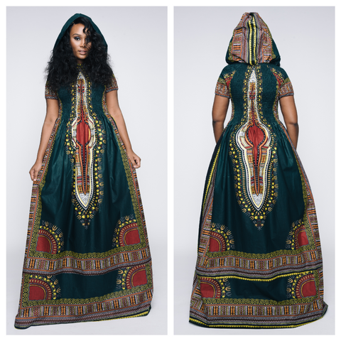 Long Dashiki Dollz