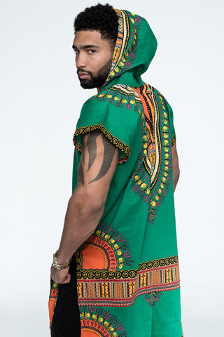 Half-Sleeve Mid-Length Dashikis