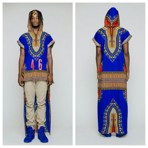 Short Dashikis w/Long Back