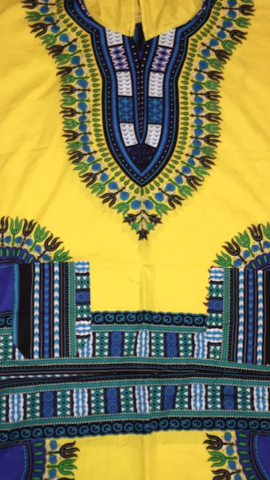 (Art Edition)  Mid-Length Dashikis