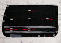 Negra Carona Charra Algodon Black Cotton Saddle Pad