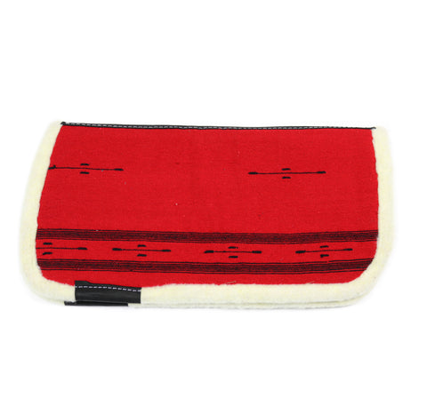 Kids Saddle Pad Red Cotton Carona De Algodon Para Nino Roja