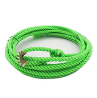 Lime Green 20 Ft Soft Kid Lasso Lariat With Burner