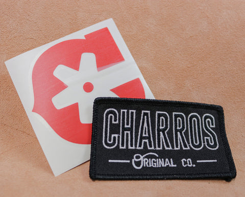 """Charros Original"" SEWN -ON Patch (10694319757)"