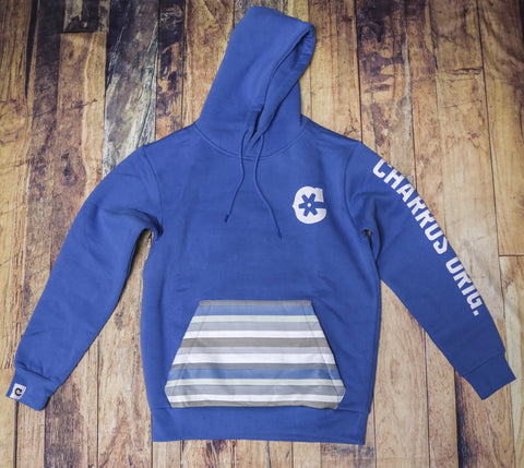 "Blue ""C"" Charros Hoodie(Fitted)"