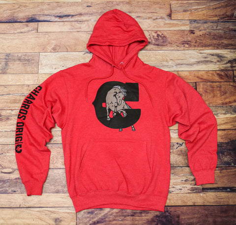 """Caballo"" Red Hoodie"
