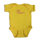 "Yellow ""Reina"" Onesie (1990787858495)"