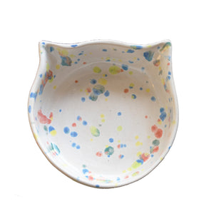 Bowl Kitty Crayon Crystals